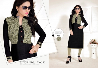 TULIP ETERNAL FAIR SILK KURTI WHOLESALER BEST RATE BY GOSIYA EXPORTS SURAT (3)