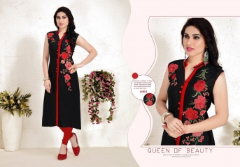 TULIP ETERNAL FAIR SILK KURTI WHOLESALER BEST RATE BY GOSIYA EXPORTS SURAT (9)