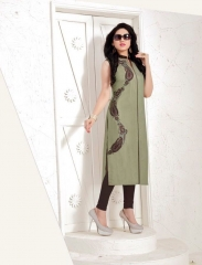 TULIP ETERNAL FAIR SILK KURTI WHOLESALER BEST RATE BY GOSIYA EXPORTS SURAT