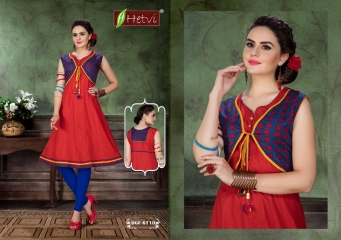 UNIQUE SAFARI CATALOG BY HETVI COTTON CAMBRIC PRINTS KURTIS WHOLESALE DEALER BEST RATE BY GOSIYA EXPORTS SURAT (10)