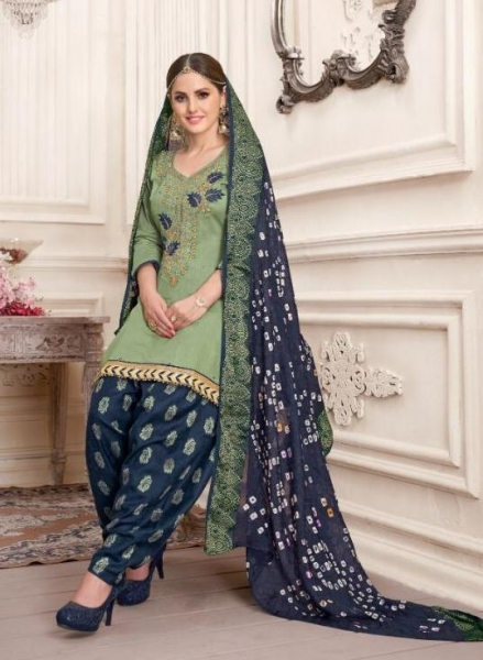 UTSAV SUITS SUHAANA COTTON  (1)
