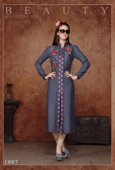V S fashion glorious rayon Kurtis collection ONLINE BEST RATE IN SURAT (7)