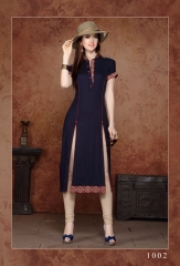 V S fashion glorious rayon Kurtis collection ONLINE BEST RATE IN SURAT (8)