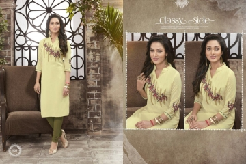 VALENCIA TEX ZOYA CATALOGUE GEORGETTE PARTY WEAR EMBROIDERED KURTI (3)
