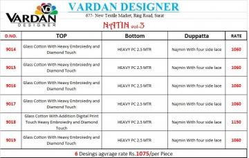 Vardan Designer natin vol 3 salwar kameez collection WHOLESLAE BEST RATE BY GOSIYA EXPORTS (2)