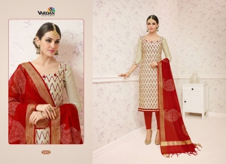VARDAN DESIGNER SHABANA VOL 1 CHANDERI SILK SUITS WHOLESALE SURAT BY GOSIYA EXPORTSSURAT (2)
