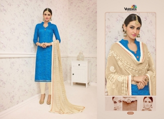 VARDAN DESIGNER SHABANA VOL 1 CHANDERI SILK SUITS WHOLESALE SURAT BY GOSIYA EXPORTSSURAT (8)