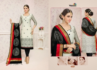 VARDAN DESIGNER SHABANA VOL 1 CHANDERI SILK SUITS WHOLESALE SURAT BY GOSIYA EXPORTSSURAT (9)