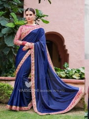 VARSIDDHI MINTORSI PADMAVATI CATALOGUE GEORGETTE DESIGNER PARTY WEAR SAREES WHOLESALER BEST RATE BY GOSIYA EXPORTS SURAT