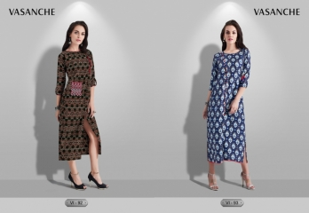 VASANCHE INAYA CATALOGUE PASHMINA CASUAL WEAR KURTI WHOLESALE SUPPLIER & DEALER BEST RATE BY GOSIYA EXPORTS SURAT (3)