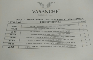 Vasanche parula designer kurti catalog ONLINE BEST RATE IN SURAT (1)
