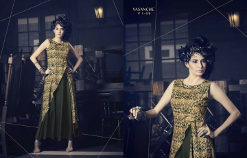 Vasanche parula designer kurti catalog ONLINE BEST RATE IN SURAT (10)