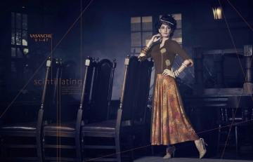 Vasanche parula designer kurti catalog ONLINE BEST RATE IN SURAT (4)