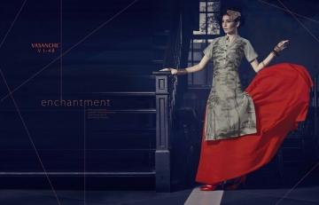 Vasanche parula designer kurti catalog ONLINE BEST RATE IN SURAT (6)