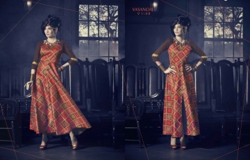 Vasanche parula designer kurti catalog ONLINE BEST RATE IN SURAT (7)