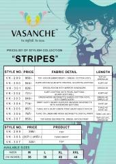 VASANCHE STRIPES FANCY KURTIS WHOLESALE RATE AT GOSIYA EXPORTS SURAT WHOLESALE DEALER AND SUPPLAYER SURAT GUJARAT (2)