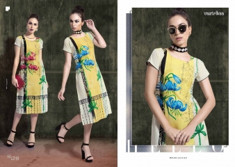 VASTRIKAA SHADES VOL 4 WHOLESALE BEST RATE KURTIS BY GOSIYA EXPORTS SURAT (2)