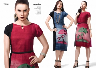 VASTRIKAA SPLASH VOL 6 RAYON PRINTED KURTIS CATALOG WHOLESALE RATE (6)