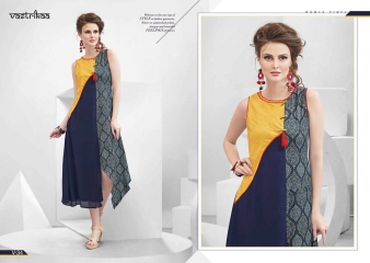 VASTRIKKA BY PLUSH GEORGETTE CASUAL WEAR KURTI COLLECTION WHOLESALE BEST RATE BY GOSIYA EXPORTS SURAT (12)