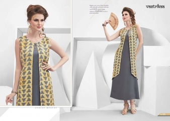 VASTRIKKA BY PLUSH GEORGETTE CASUAL WEAR KURTI COLLECTION WHOLESALE BEST RATE BY GOSIYA EXPORTS SURAT (13)