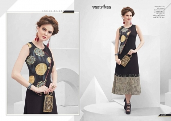 VASTRIKKA BY PLUSH GEORGETTE CASUAL WEAR KURTI COLLECTION WHOLESALE BEST RATE BY GOSIYA EXPORTS SURAT (15)