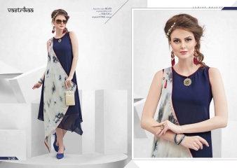 VASTRIKKA BY PLUSH GEORGETTE CASUAL WEAR KURTI COLLECTION WHOLESALE BEST RATE BY GOSIYA EXPORTS SURAT (16)