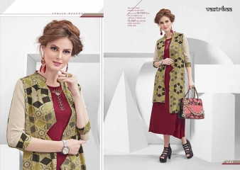 VASTRIKKA BY PLUSH GEORGETTE CASUAL WEAR KURTI COLLECTION WHOLESALE BEST RATE BY GOSIYA EXPORTS SURAT (19)