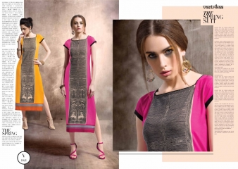VASTRIKKA GLITZ VOL 3 BUBBLE GEORGETTE KURTI WHOLESALE RATE AT GOSIYA EXPORTS SURAT WHOLESALE DEALER AND SUPPLAYER SURAT GUJARAT (1)