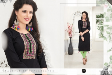 VEERA TEX NOOR CATALOG RAYON EMBROIDERED KURTIS WHOLESALE SUPPLIER BEST RATE BY GOSIYA EXPORTS SURAT (5)