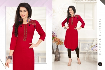 VEERA TEX NOOR CATALOG RAYON EMBROIDERED KURTIS WHOLESALE SUPPLIER BEST RATE BY GOSIYA EXPORTS SURAT (8)
