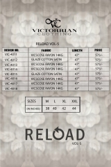 VICTORRIAN CLOTHING RELOAD VOL 5 RAYON & COTTON PARTY WEAR KURTI ONLINE SUPPLIER (9)