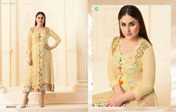 VINAY FASHION BY TUMBAA BEBO CATALOGUE GEORGETTE KURTI WHOLESALER BEST ARET BY GOSIYA EXPORTS SURAT (10)