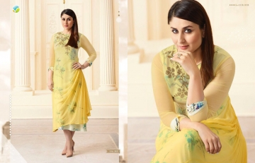 VINAY FASHION BY TUMBAA BEBO CATALOGUE GEORGETTE KURTI WHOLESALER BEST ARET BY GOSIYA EXPORTS SURAT (2)