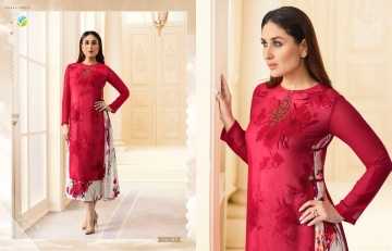 VINAY FASHION BY TUMBAA BEBO CATALOGUE GEORGETTE KURTI WHOLESALER BEST ARET BY GOSIYA EXPORTS SURAT (3)