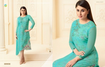 VINAY FASHION BY TUMBAA BEBO CATALOGUE GEORGETTE KURTI WHOLESALER BEST ARET BY GOSIYA EXPORTS SURAT (4)