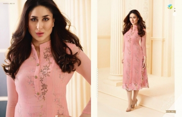 VINAY FASHION BY TUMBAA BEBO CATALOGUE GEORGETTE KURTI WHOLESALER BEST ARET BY GOSIYA EXPORTS SURAT (6)
