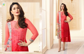 VINAY FASHION BY TUMBAA BEBO CATALOGUE GEORGETTE KURTI WHOLESALER BEST ARET BY GOSIYA EXPORTS SURAT (9)