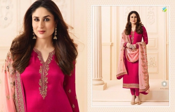 VINAY FASHION KAREENA VOL 3 GEORGETTE PARTY WEAR WHOLESALE SALWAR KAMEEZ COLLECTION BEST RATE BY GOSIYA EXPORTS SURAT (1)