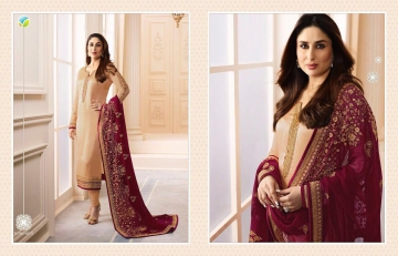 VINAY FASHION KAREENA VOL 3 GEORGETTE PARTY WEAR WHOLESALE SALWAR KAMEEZ COLLECTION BEST RATE BY GOSIYA EXPORTS SURAT (3)