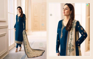 VINAY FASHION KAREENA VOL 3 GEORGETTE PARTY WEAR WHOLESALE SALWAR KAMEEZ COLLECTION BEST RATE BY GOSIYA EXPORTS SURAT (5)