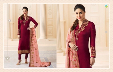 VINAY FASHION KAREENA VOL 3 GEORGETTE PARTY WEAR WHOLESALE SALWAR KAMEEZ COLLECTION BEST RATE BY GOSIYA EXPORTS SURAT (6)