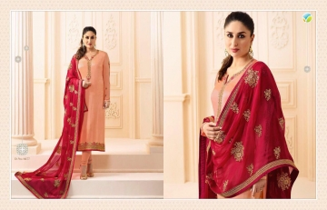 VINAY FASHION KAREENA VOL 3 GEORGETTE PARTY WEAR WHOLESALE SALWAR KAMEEZ COLLECTION BEST RATE BY GOSIYA EXPORTS SURAT (7)