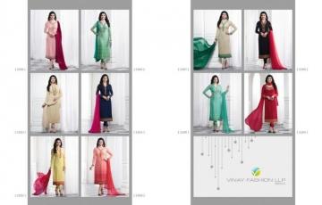 vinay fashion kaseesh blue star salwar kameez catalog WHOLESALE RATE BY GOSIYA EXPORTS (10)