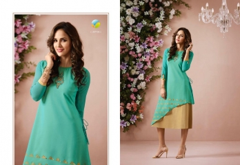 VINAY FASHION LLP LONDON GEORGETTE TRENDY KURTI WHOLESALE DEALER SURAT BY GOSIYA EXPORTS (4)