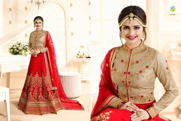 VINAY FASHION LLP PRINCESS LEHENGHA COLLECTION WHOLESALE SURAT BEST RATE VINAY FASHION (3)