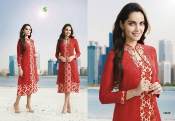 VINAY FASHION LLP TUMBA METRO KURTIS WHOLESALE RATE AT SURAT GOSIYA EXPORTS WHOLESALE DEALER AND SUPPLAYER SURAT GUJARAT (1)