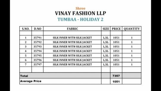 VINAY FASHION LLP TUMBAA HOLIDAY VOL 2  (12)