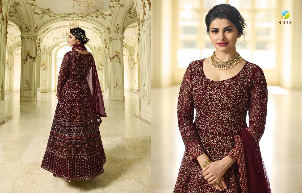9cf9b802af Vinay Kaseesh Premium DNO 86118616 Anarkali Dress t