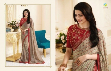 VINAY PRACHI STAR WALK VOL 27 GEORGETTE WORK BLAUSE SAREES WHOLESALE BEST RATE BY GOSIYA EXPORTS (1)