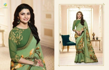 VINAY PRACHI STAR WALK VOL 27 GEORGETTE WORK BLAUSE SAREES WHOLESALE BEST RATE BY GOSIYA EXPORTS (9)